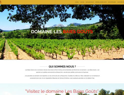 Domaine Les Baies Goûts